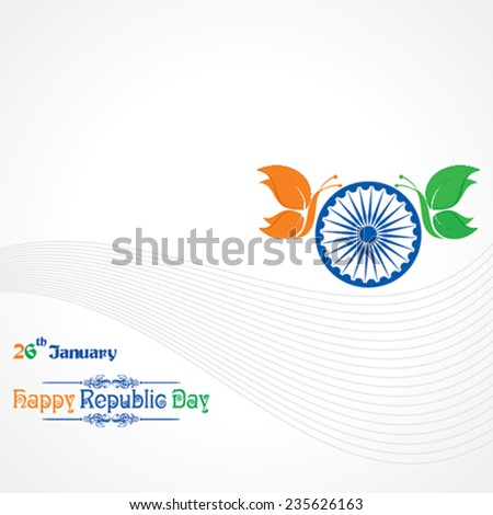 republic day greeting with