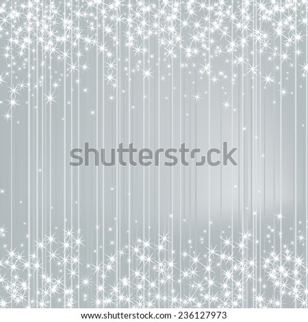 bright silver background with