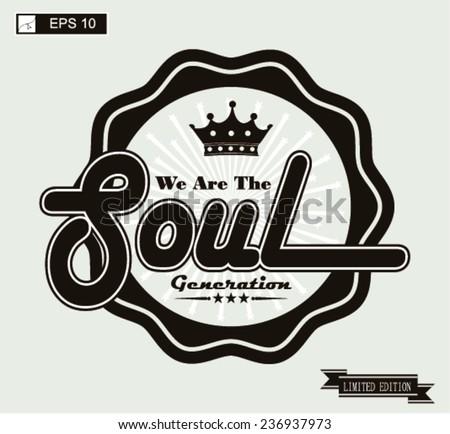 soul  music vintage art
