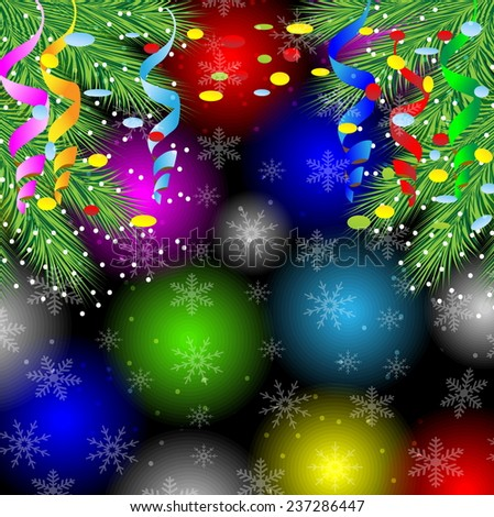 festive background with the