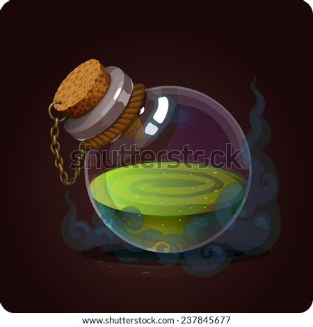 game icon of magic elixir