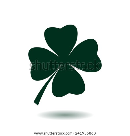 leaf clover sign icon saint