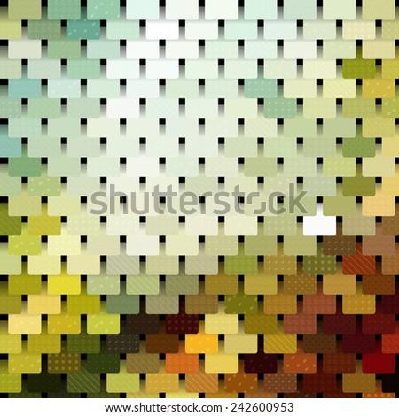 chainmail mosaic pattern