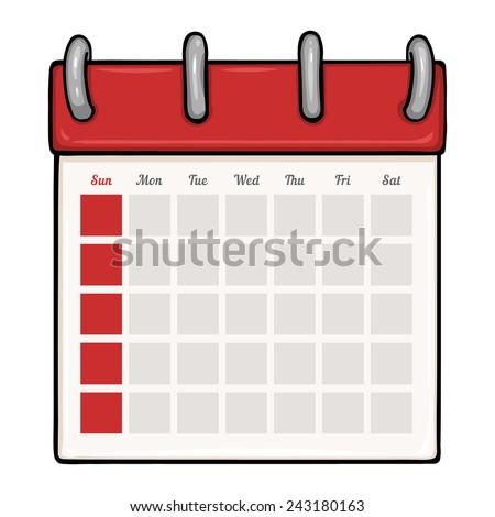 Blank calendar vector free vector download (3,332 Free vector) for ...