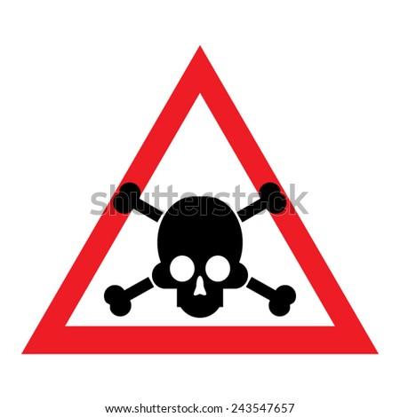 sign of danger to life skull