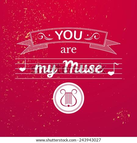 valentine's day typography