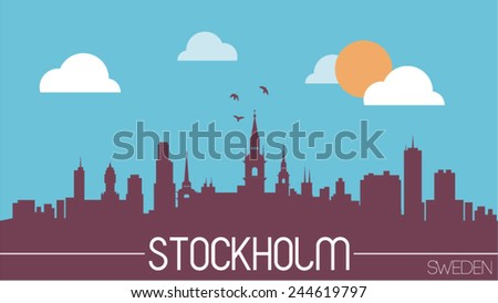 stockholm sweden skyline