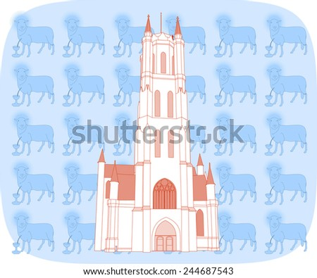st bavon 's  cathedral  ghent