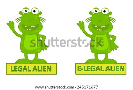 legal alien vs e legal