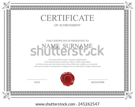 Free Vector Gift Certificate Border Free Vector Download (8,540 Free  Vector) For Commercial Use. Format: Ai, Eps, Cdr, Svg Vector Illustration  Graphic Art ...  Certificate Borders Templates