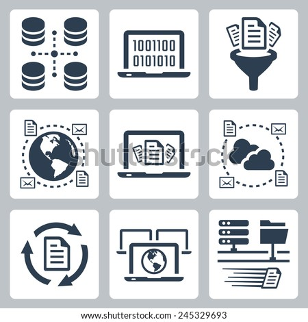 computer data related vector