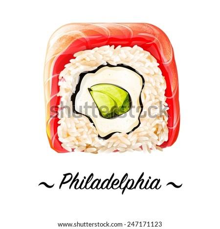 philadelphia maki zushi sushi