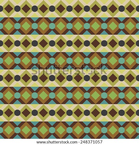 colorful aztec seamless pattern