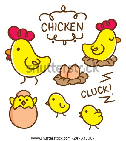 chicken doodle