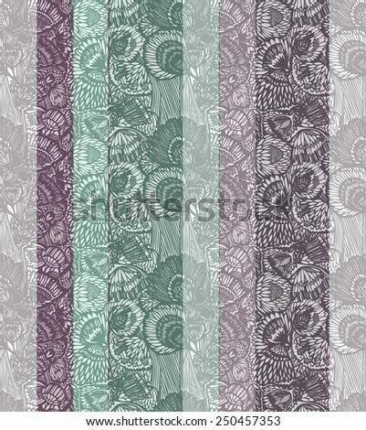vector floral seamless texture