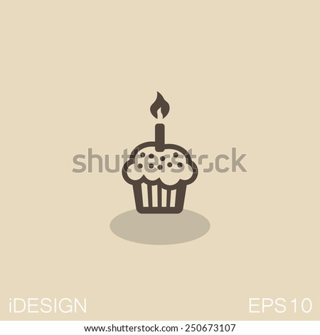 pictograph of cake