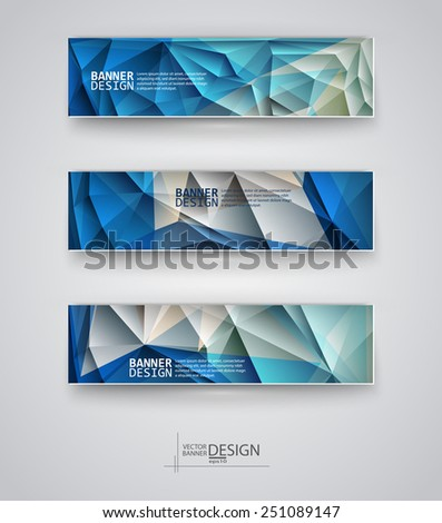 business design templates set