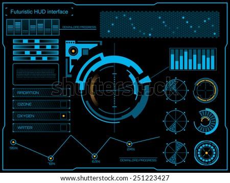 abstract future  concept vector
