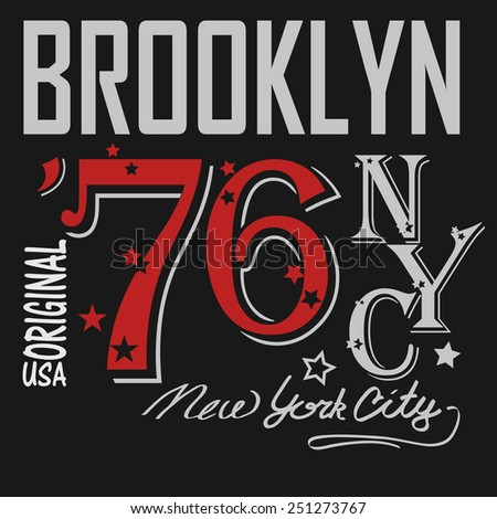 t shirt design  new york city
