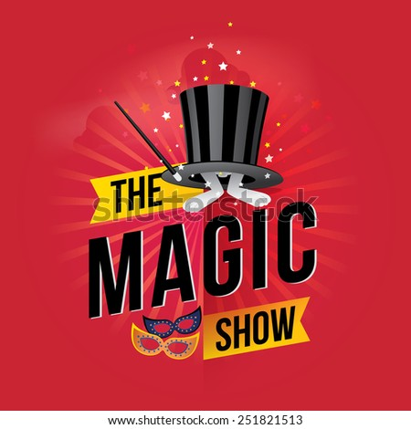 the magic show vector