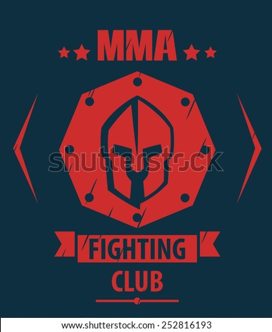 mma fighting club scratched