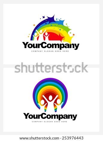kindergarten logo design