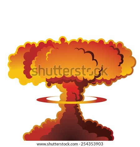 a nuclear weapon exploding