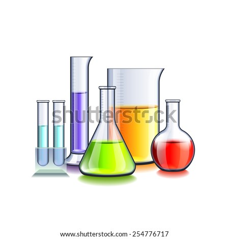 Red Beaker clip art Free Vector / 4Vector
