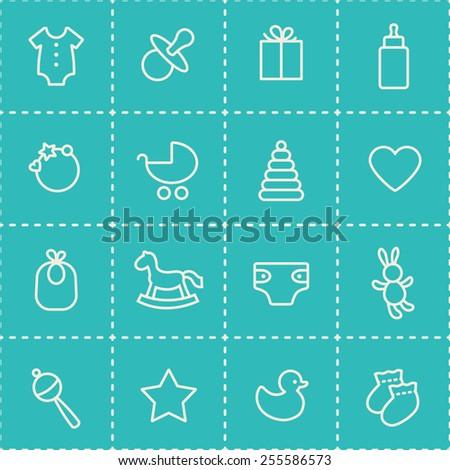 seamless pattern blue and