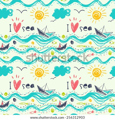 seamless pattern in the concept