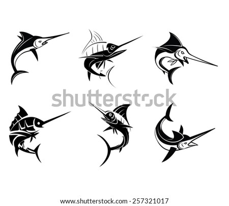 tattoo symbol of marlin fish