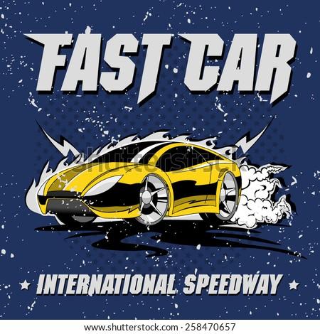 fast international speedway