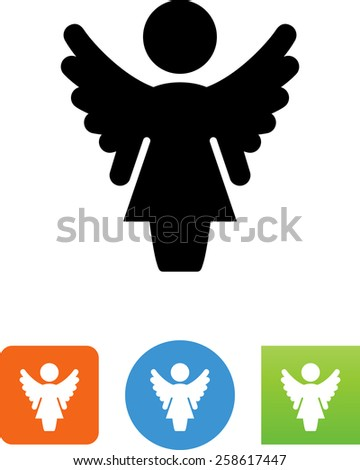 female angel symbol for