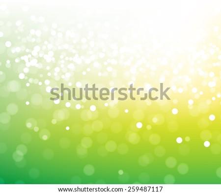 green glitter abstract magic