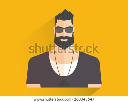 man  hipster style