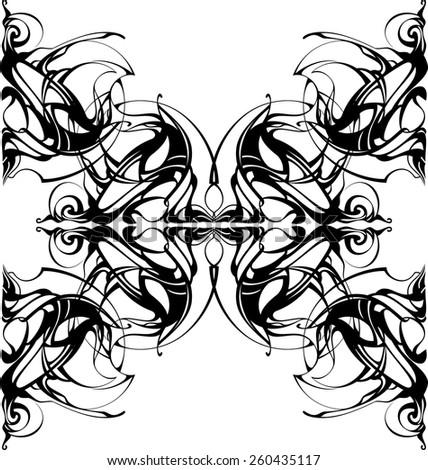 vector mandala decorative lace