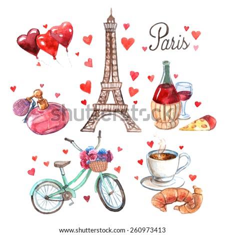 paris love romance heart