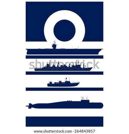 abstract insignia navy admiral