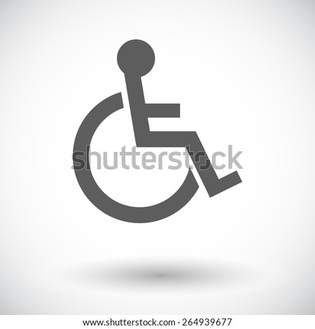 Handicapped Accessible Sign Clip Art Free Vector In Open Office