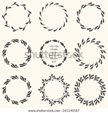 Flower Circle Borders Free Vector Download (19,495 Free Vector) For  Commercial Use. Format: Ai, Eps, Cdr, Svg Vector Illustration Graphic Art  Design