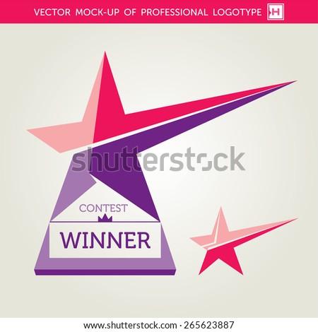 vector contest winner award star