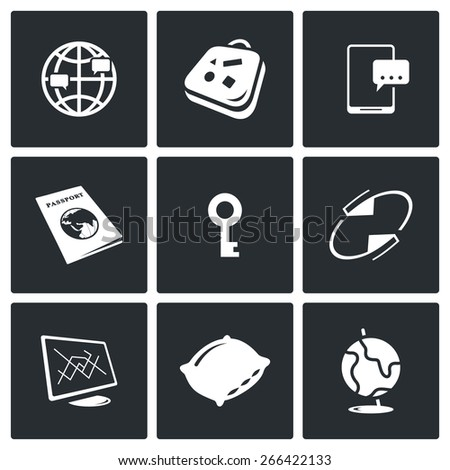 couchsurfing icons