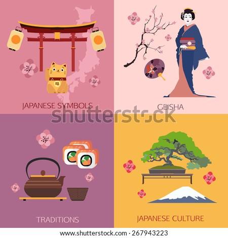 set of japan travel
