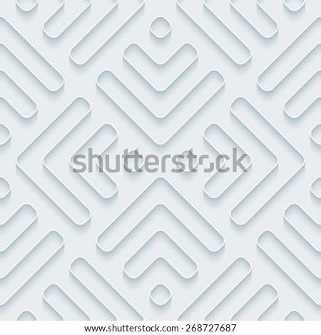 white 3d wallpaper halftone