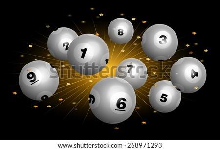 vector bingo   lottery number