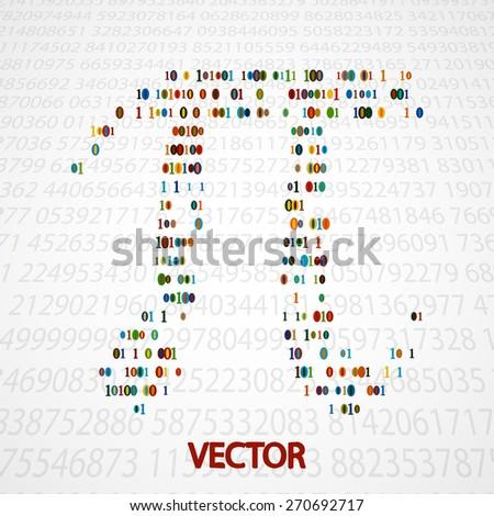 pi numbers shape eps10
