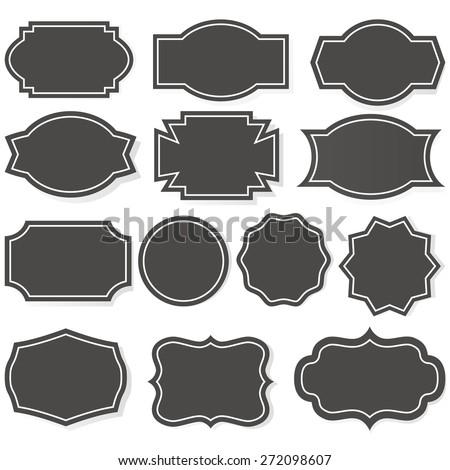 Label Shape Vector