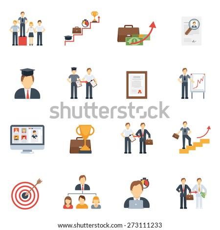 business career success ladder