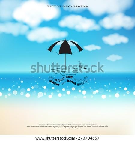 vector background marine style
