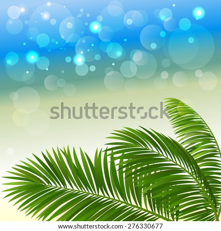 summer abstract background with